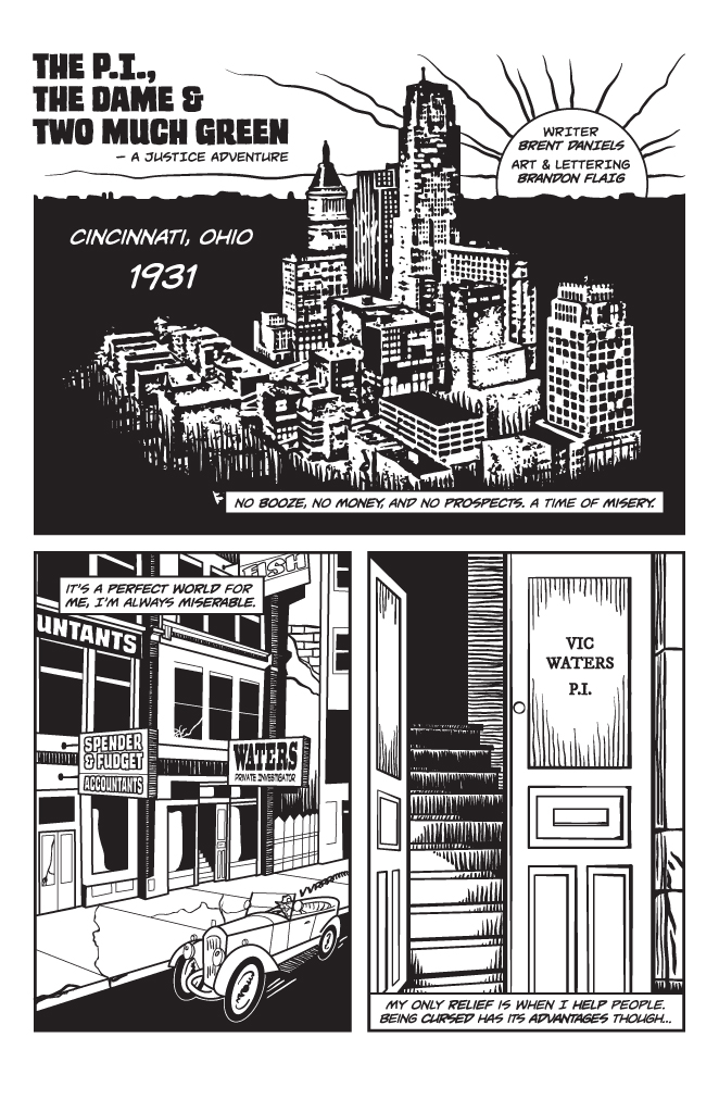 Twisted Tales of Two-Fisted Justice, Issue1, Page 2