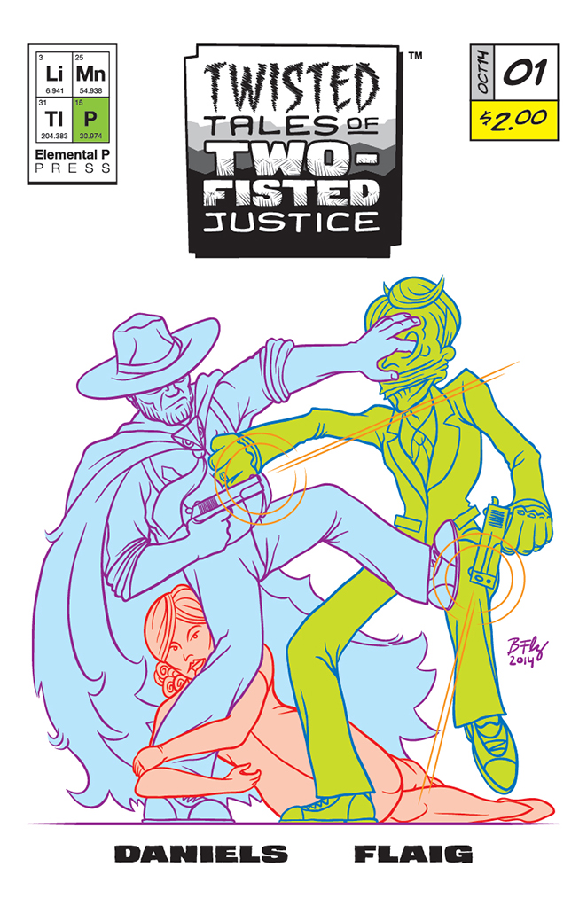 Twisted Tales of Two-Fisted Justice, Issue 1 Cover