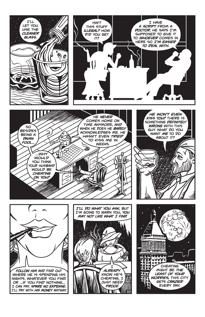 Twisted Tales of Two-Fisted Justice, Issue 1, Page 4