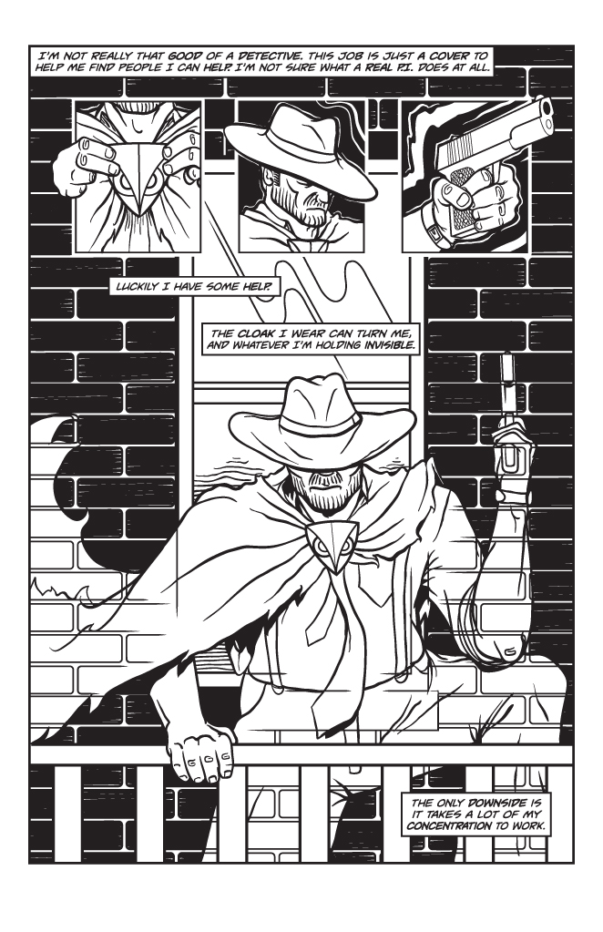 Twisted Tales of Two-Fisted Justice, Issue 1, Page 5
