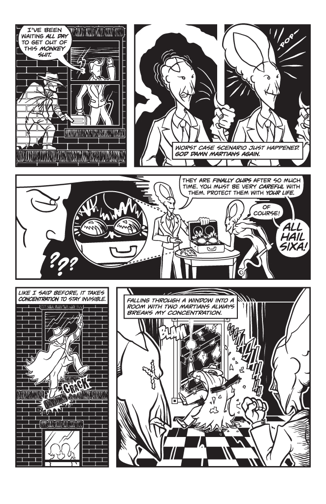 Twisted Tales of Two-Fisted Justice, Issue 1, Page 7