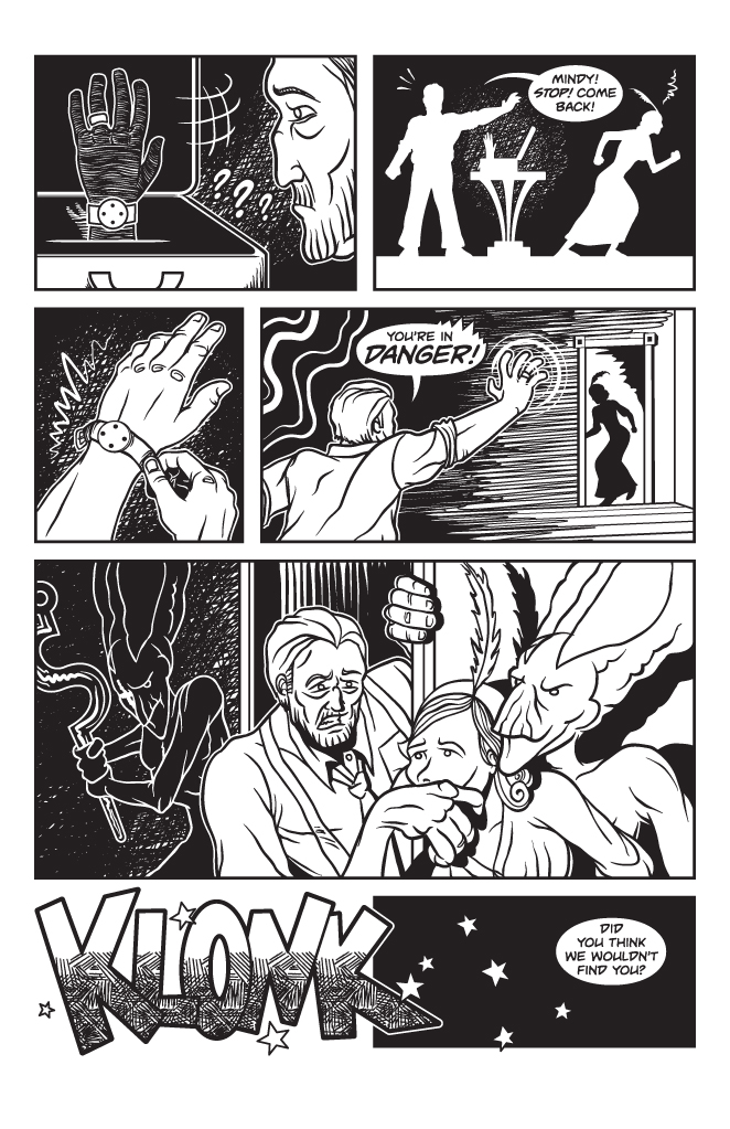 Twisted Tales of Two-Fisted Justice, Issue 1, Page 11