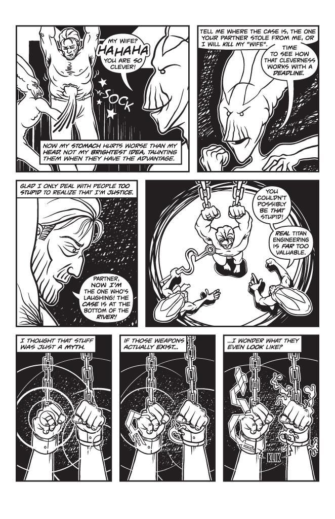 Twisted Tales of Two-Fisted Justice, Issue 1, Page 13