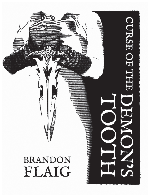 Curse of the Demon's Tooth, Cover