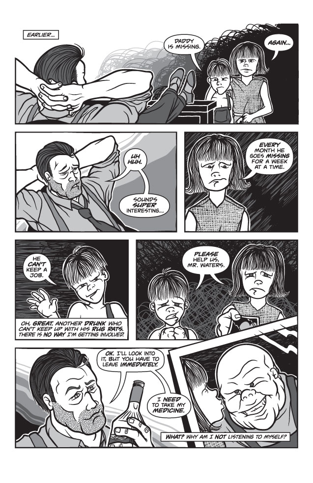 Twisted Tales of Two-Fisted Justice, Issue 2, Page 2