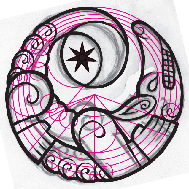 cosmic_werewolf_logo_ink1